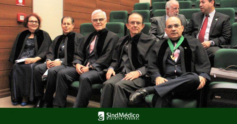AMeB recebe quatro novos acadêmicos