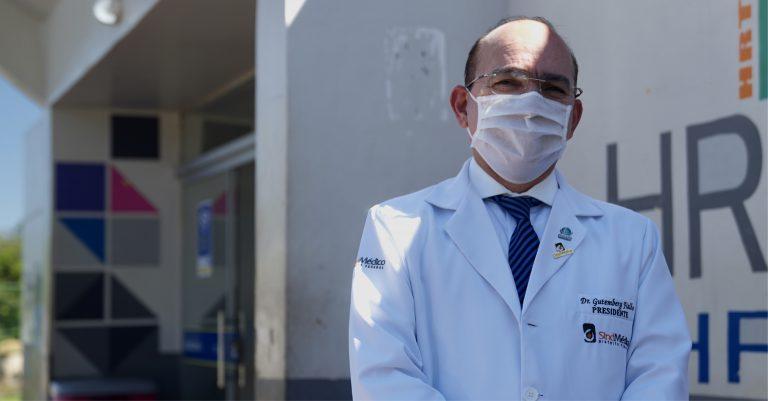 HRT não recebe quantidade suficiente de insumos para combate ao coronavírus
