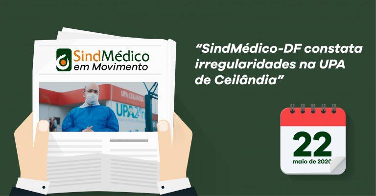 SindMédico em Movimento de 9 a 22 de maio