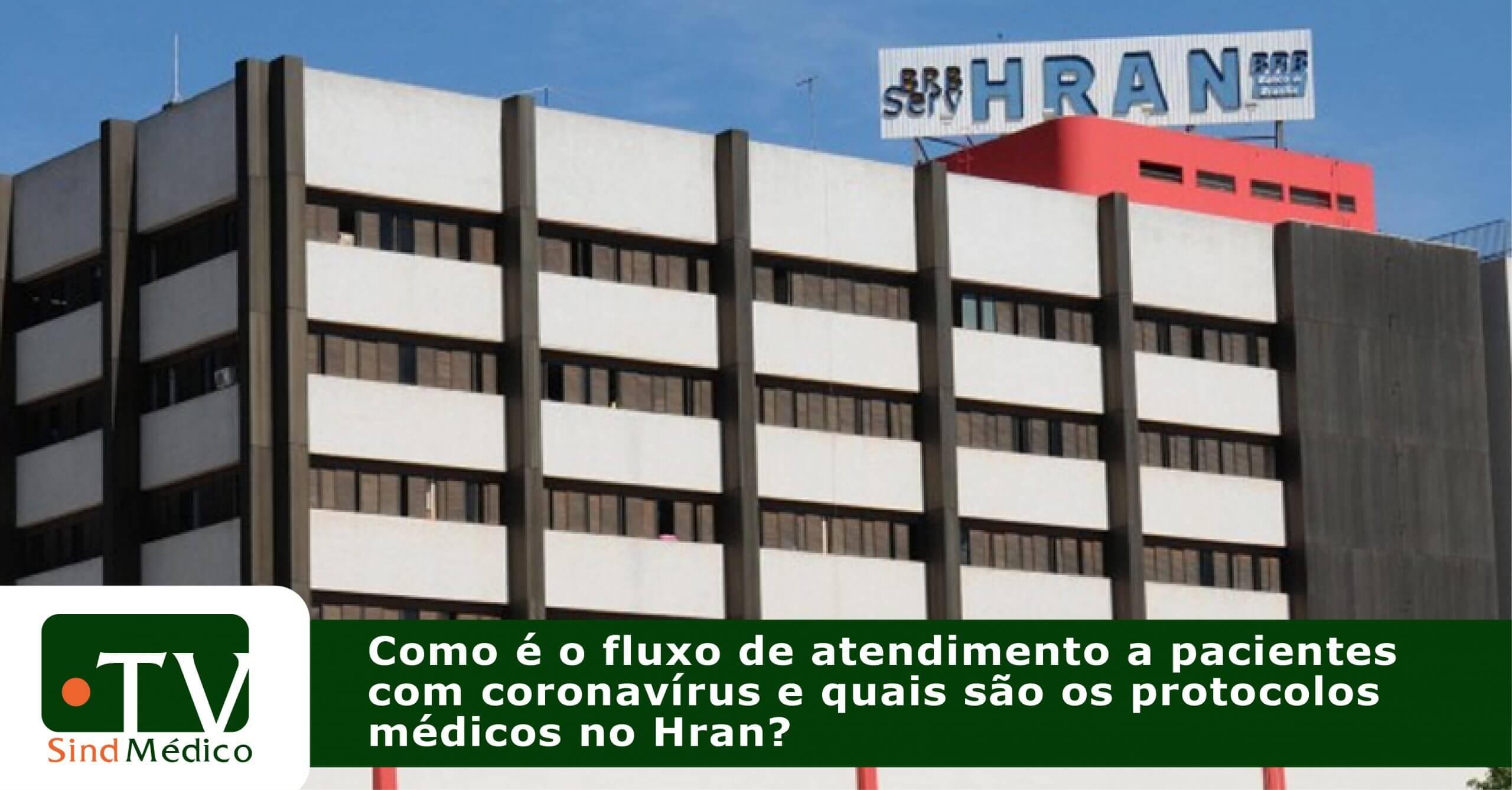Coronavírus: Fluxos e protocolos no Hran