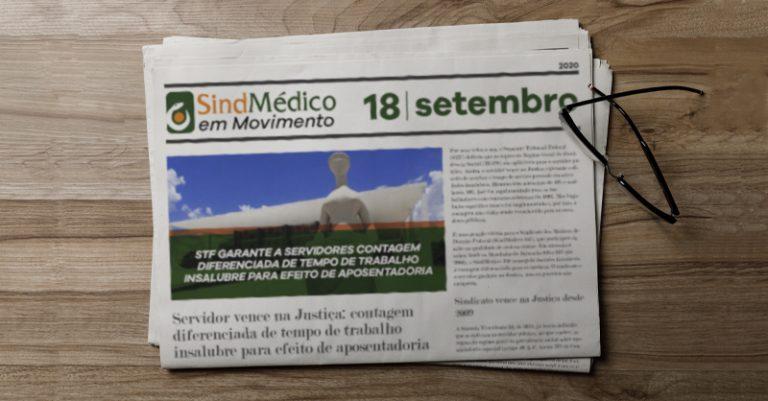 SindMédico em Movimento – 04 a 18 de setembro