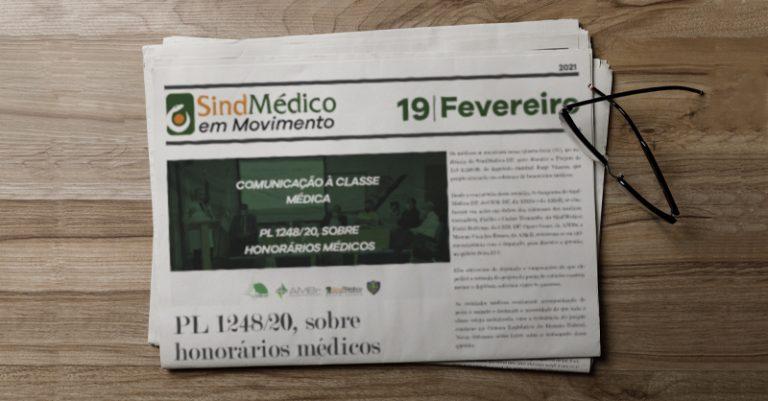 SindMédico em Movimento 19 de fevereiro