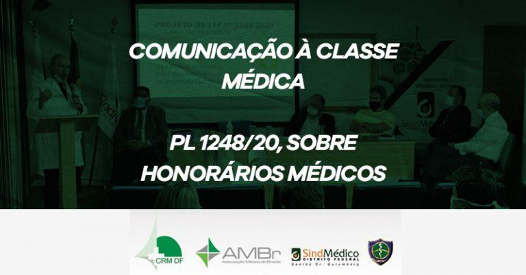 COMUNICAÇÃO À CLASSE MÉDICA